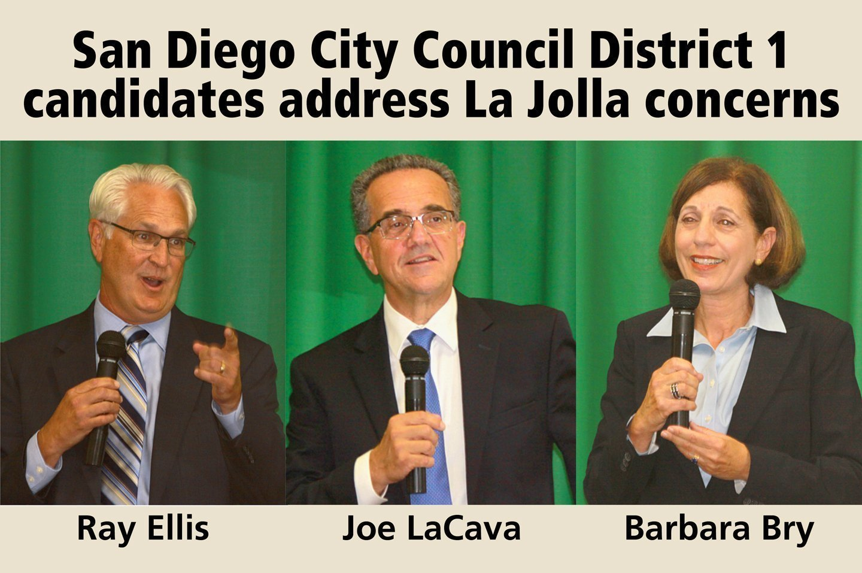 San Diego City Council District 1 hopefuls meet La Jolla ...