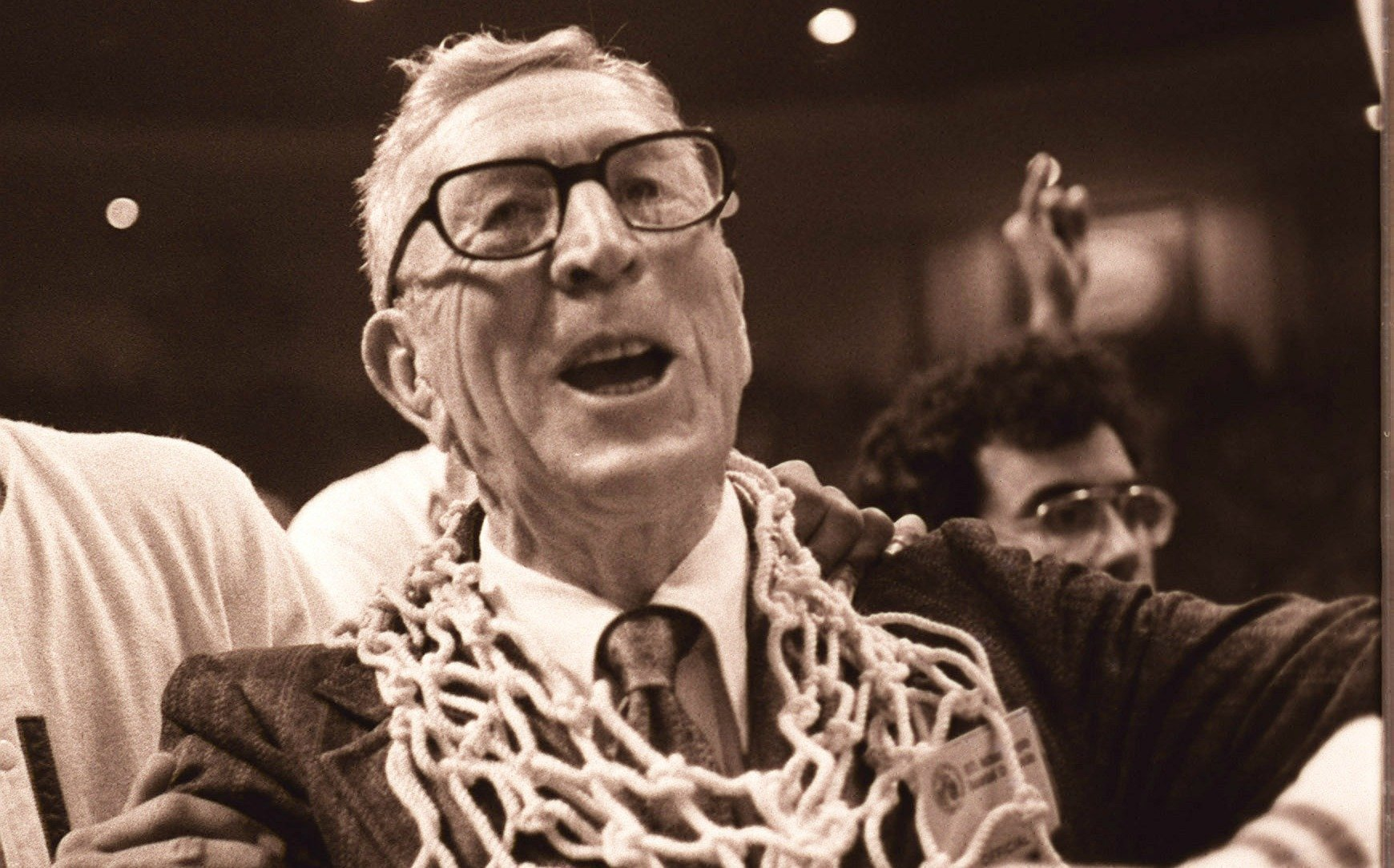 The 52: John Wooden announces retirement at Sports Arena ...