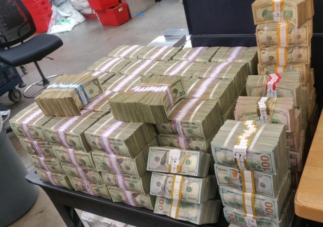 million cash dollar seizure seize smuggling