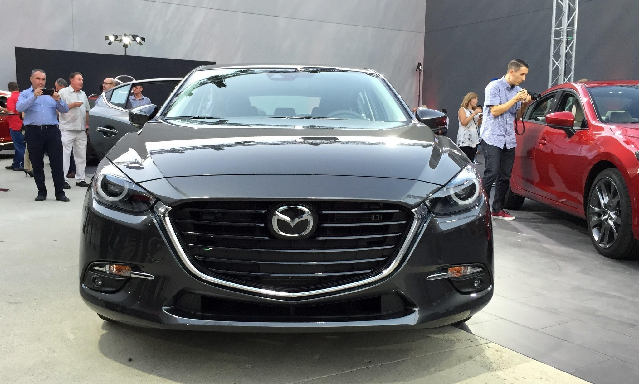 Mazda S Preview Party To Show Off The Major Refresh Of 2017 Mazda3 And Mazda6 San Go Union Tribune
