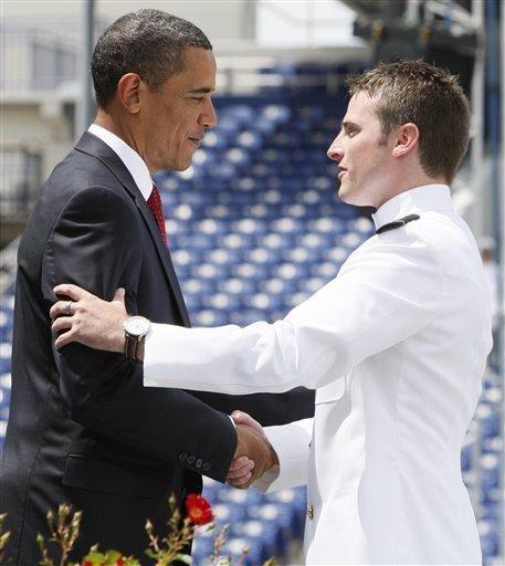 Meghan Mccain Barack Obama: Naval Graduates Include Sen. McCain's Son, Jack
