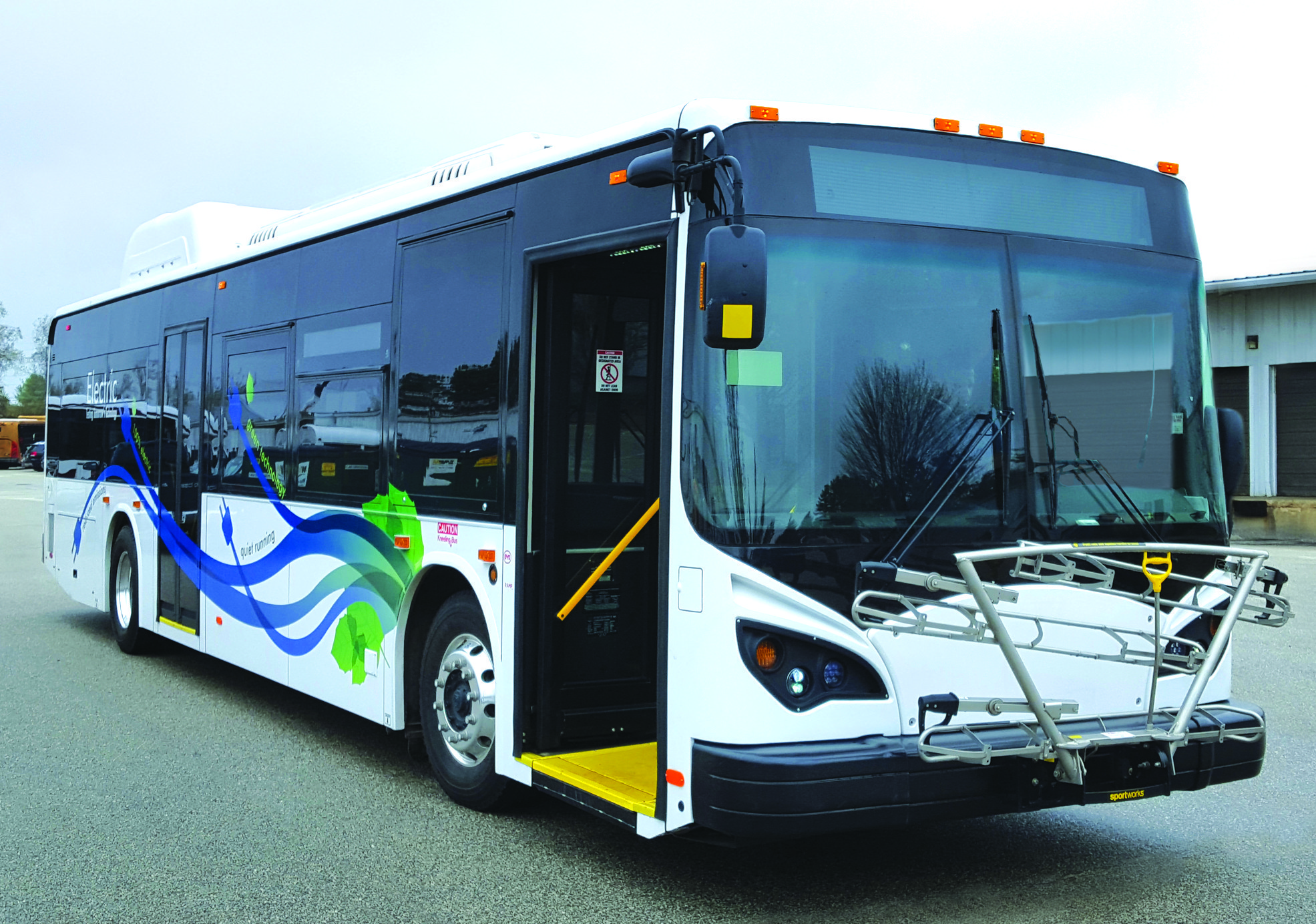 Broward Testing Electric Buses P Engers Ride Free During Trial Run