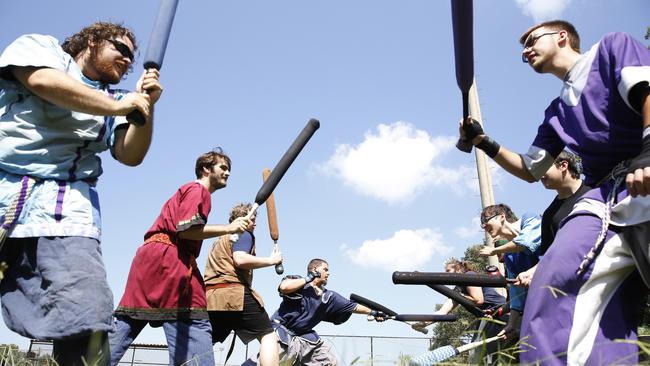 In Hampton's Briarfield Park, a community grows around foam swords