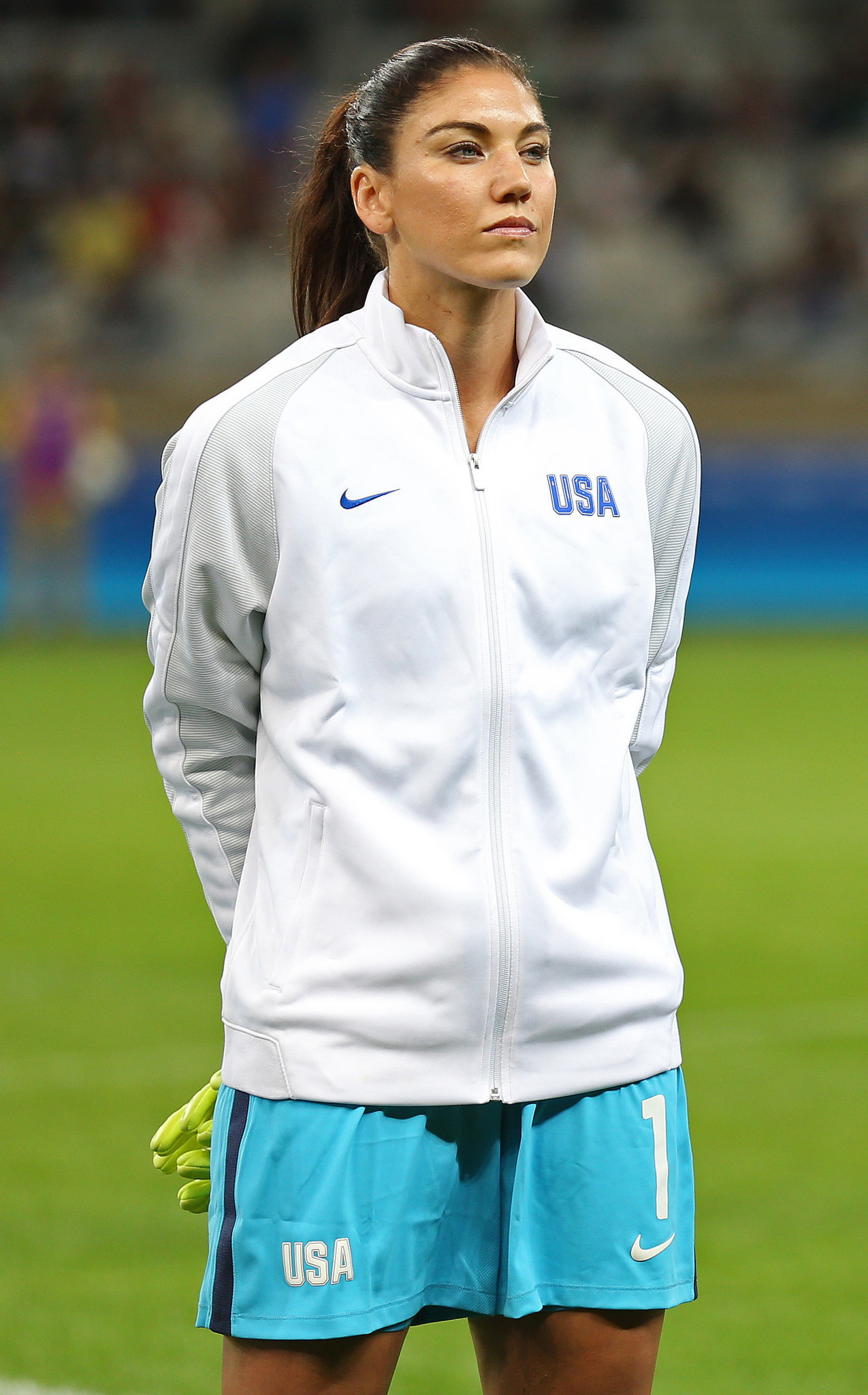 Solo: Watch Hope Solo React To U.S. Soccer Suspension