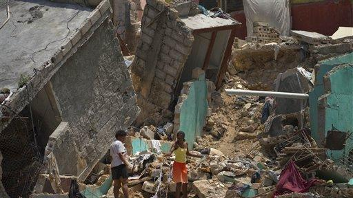 Haiti to use quake rubble in capital's rebuilding - The San
