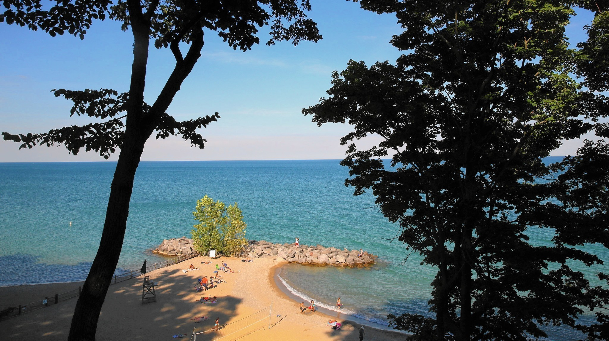 Michigan Roadside Attractions: Northernmost Point of Lake ... |Lake Michigan Attractions