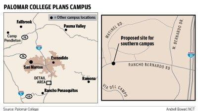 Palomar College Escondido Campus Map.San Marcos Palomar College Buying Rb Site For Future Campus The