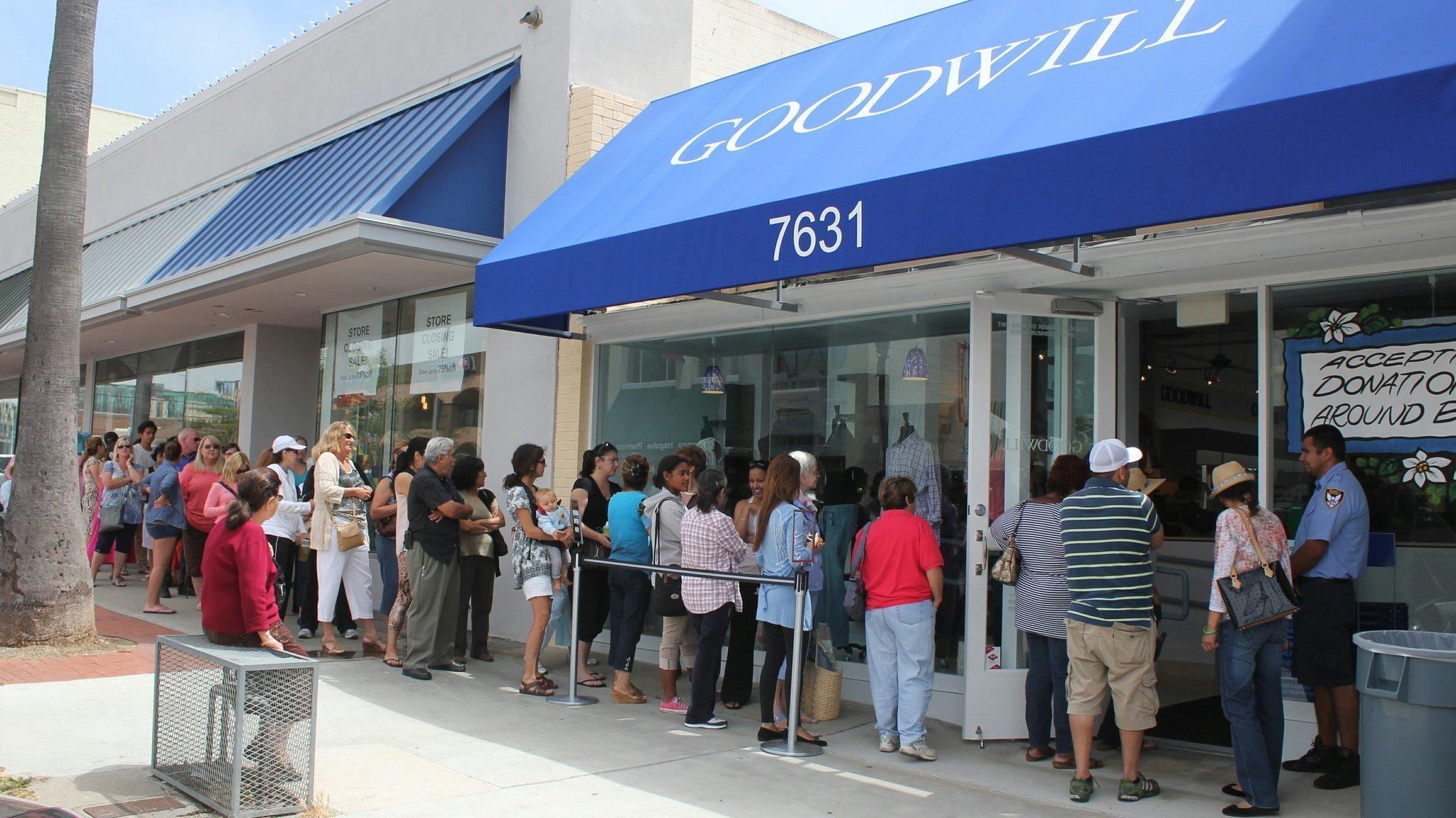 9b64988d8ba Spreading Goodwill  Impressive turnout for opening of La Jolla Goodwill  store - La Jolla Light
