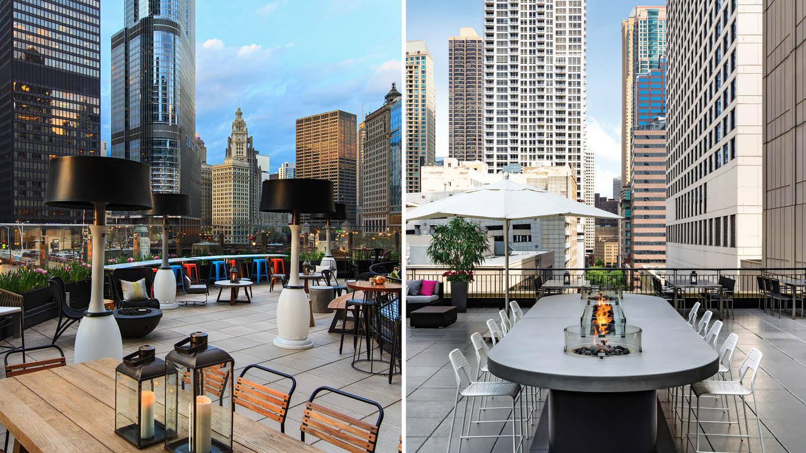 Gwen Hotel Chicago Rooftop