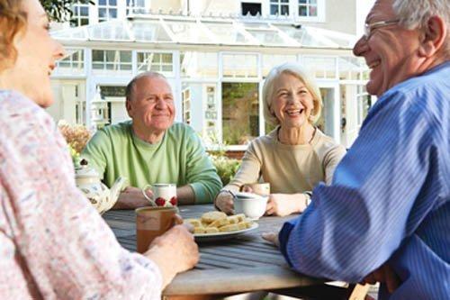 Widows meeting widowers