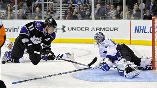 size 40 79eb1 a6c26 Quick's shutout boosts LA Kings past Tampa Bay - The San ...