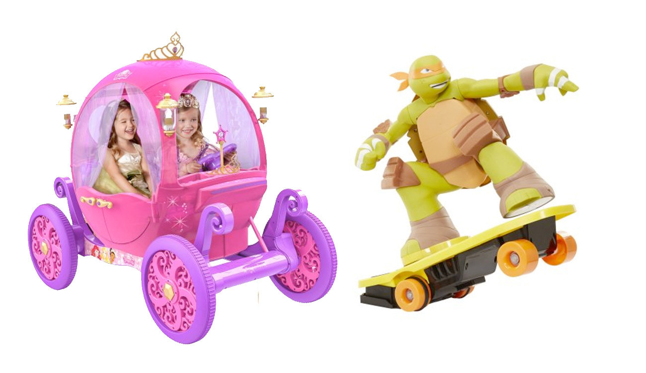 Ninja Turtles, entrepreneur toys make Wal-Mart's list of ...