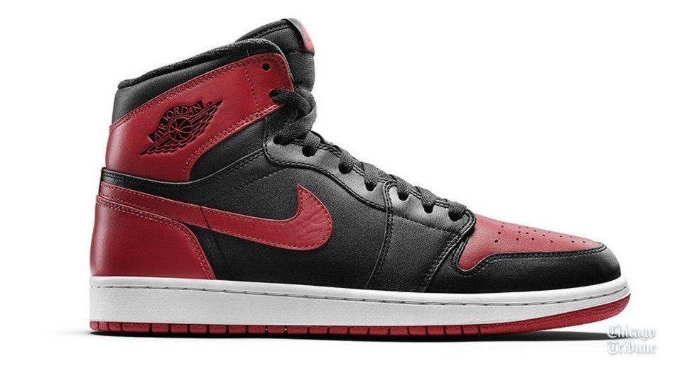 69672e7b375c The story behind the banned Air Jordans - Chicago Tribune