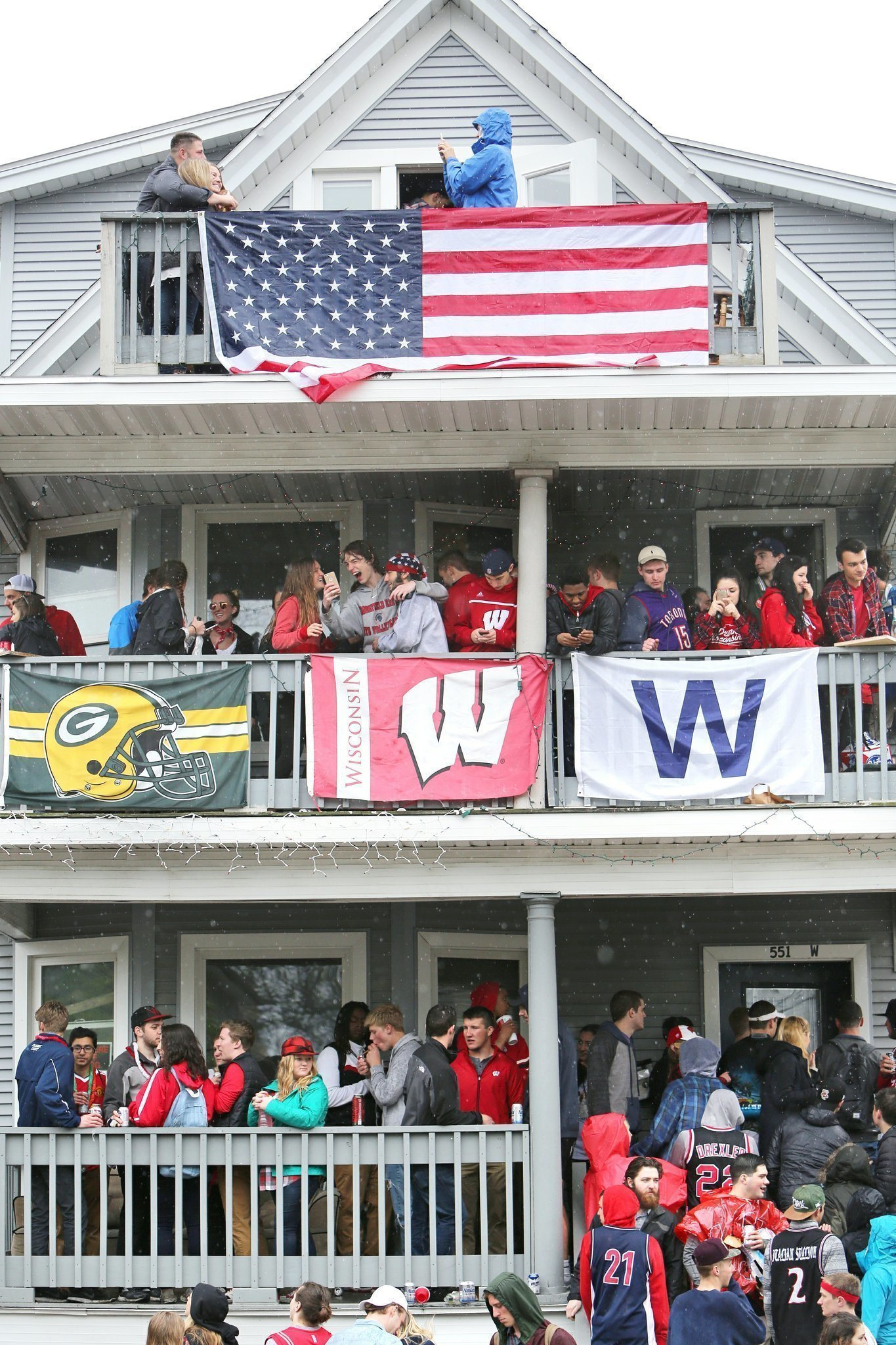 university of wisconsin madison is top party school in us the san