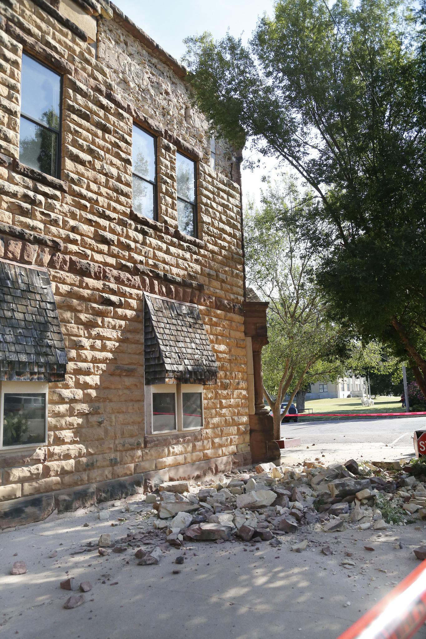 Record Tying Oklahoma Earthquake Felt As Far Away As