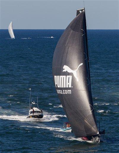 572e4ebb51f6 Puma narrowly wins epic Ocean Race stage - The San Diego Union-Tribune