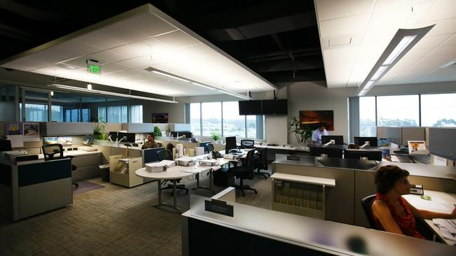 Workers Get Desks Near The Windows And Can Enjoy Views Outside Now That High Cubicle Walls