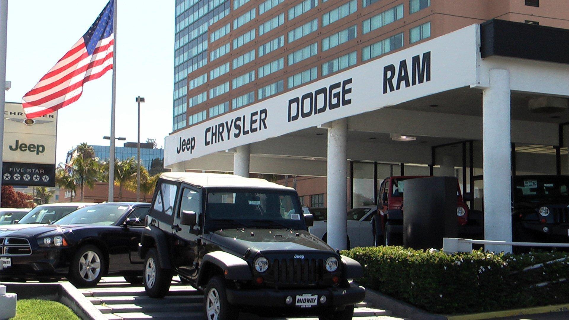 Jeep Dealership San Diego >> Midway Jeep Chrysler Dodge Ram - The San Diego Union-Tribune