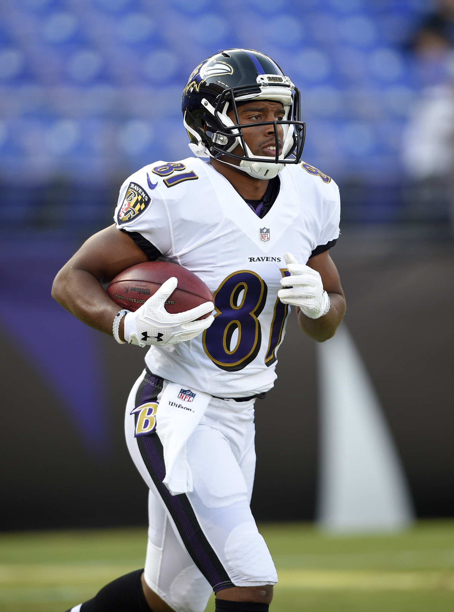 premium selection c1aa7 eb75a Keenan Reynolds clears waivers, returns to Ravens practice ...