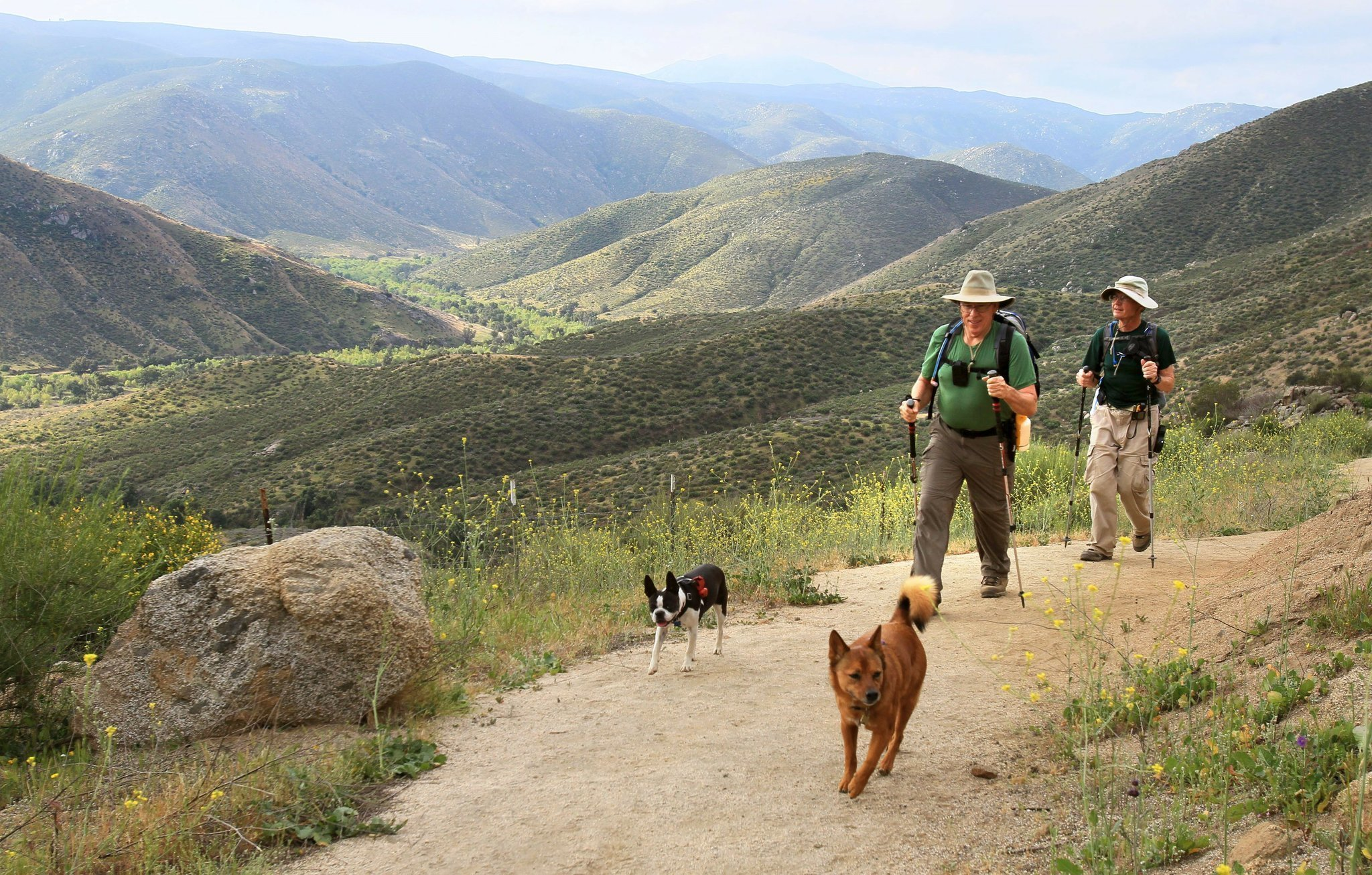 hikers ok with permit, new rules at falls - the san diego union-tribune