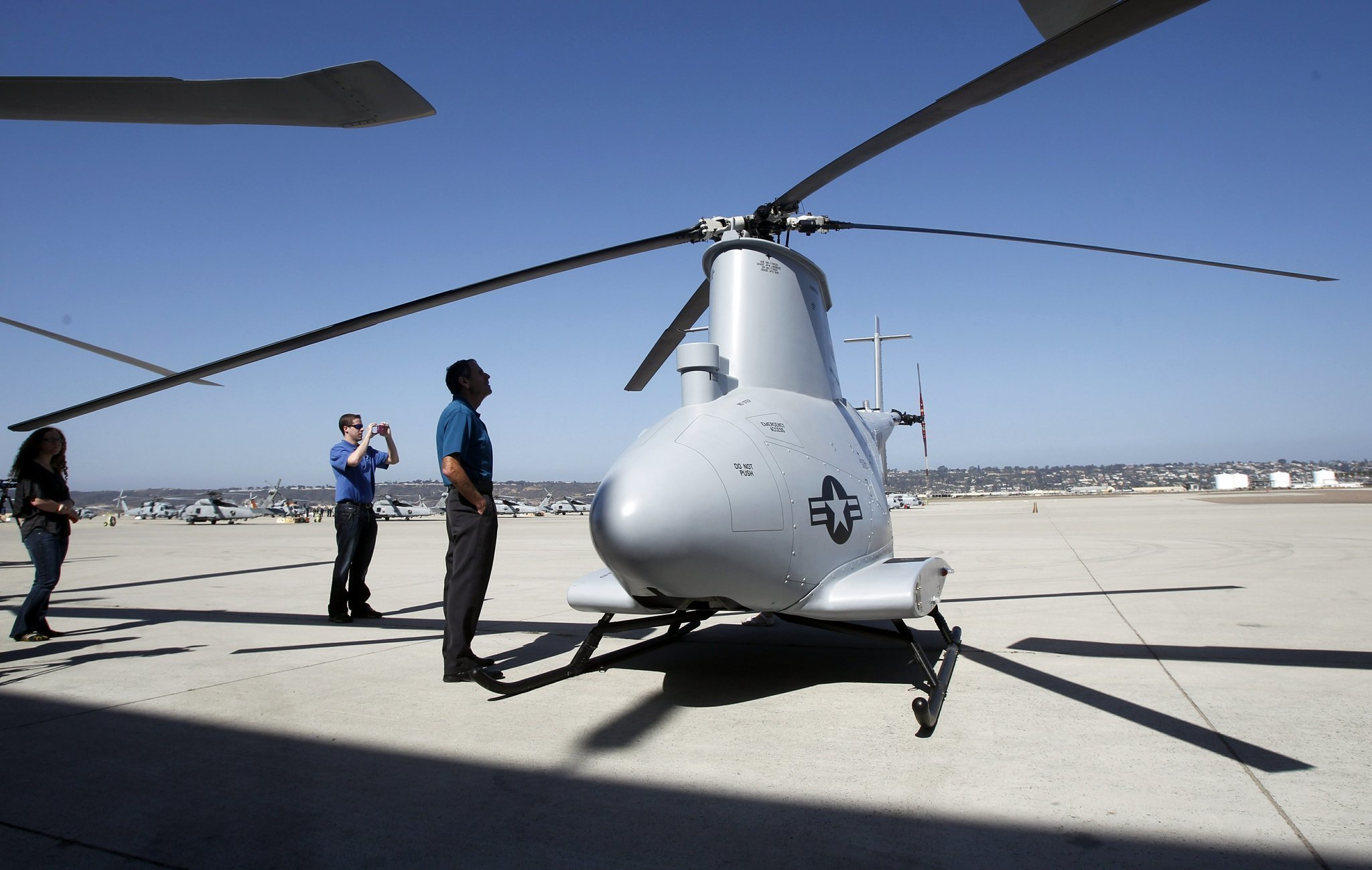 Navy 1st Hybrid Copter Unit With Drones