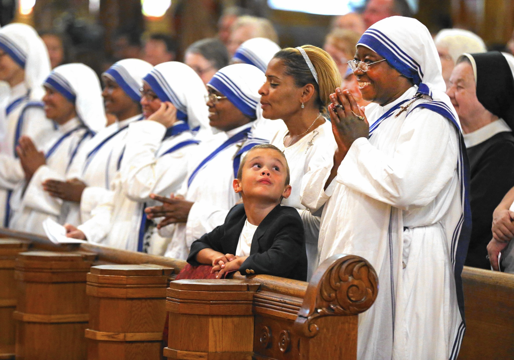 Missionaries Of Charity In Chicago Honor New St Teresa