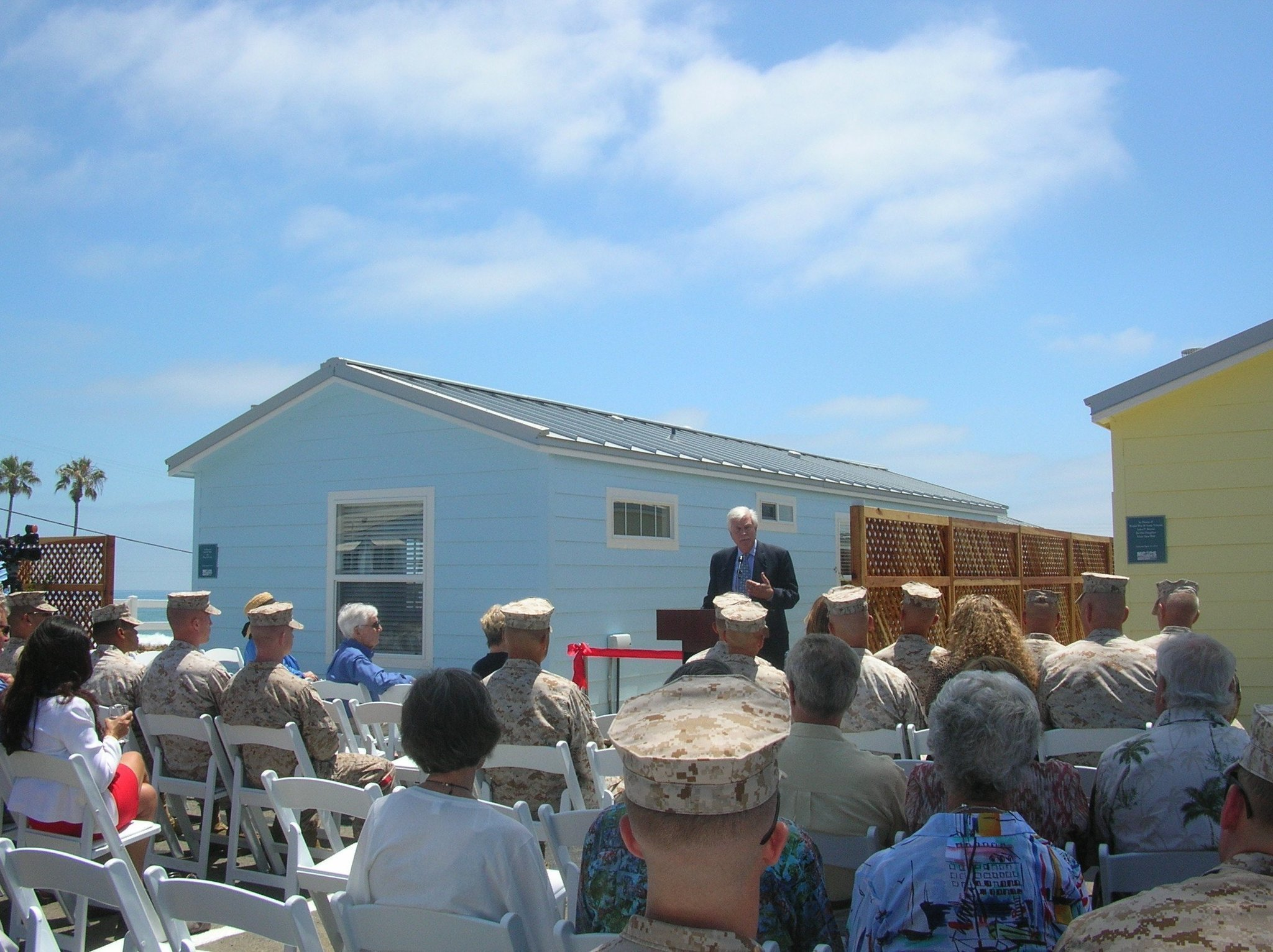 Renovated Beach Cottages Dedicated On Base The San Go Union Tribune