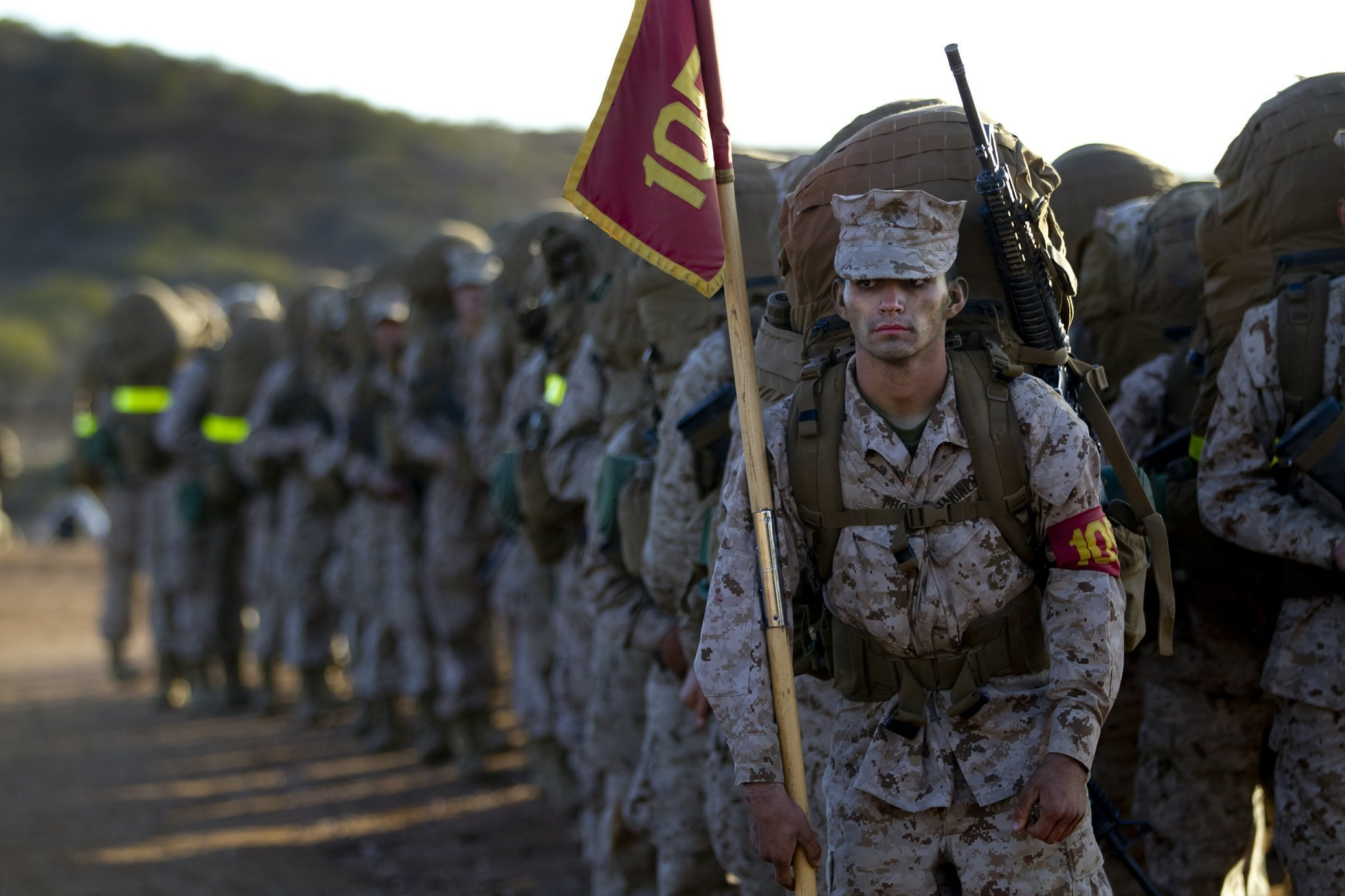 Crucible Journey From Civilian To Marine The San Diego Union Tribune