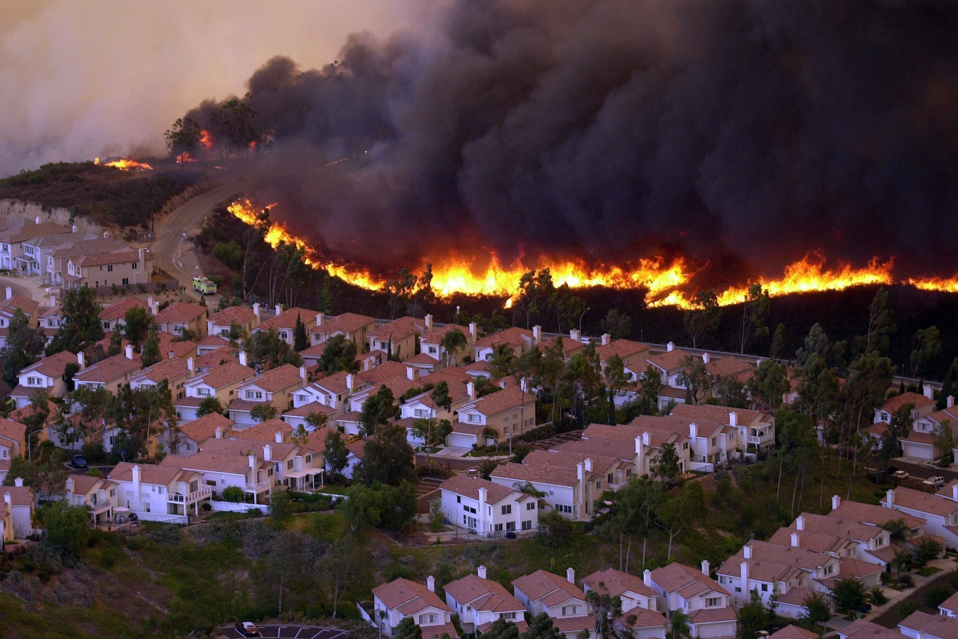 Cedar Fire S Lessons 10 Years Later The San Diego Union Tribune