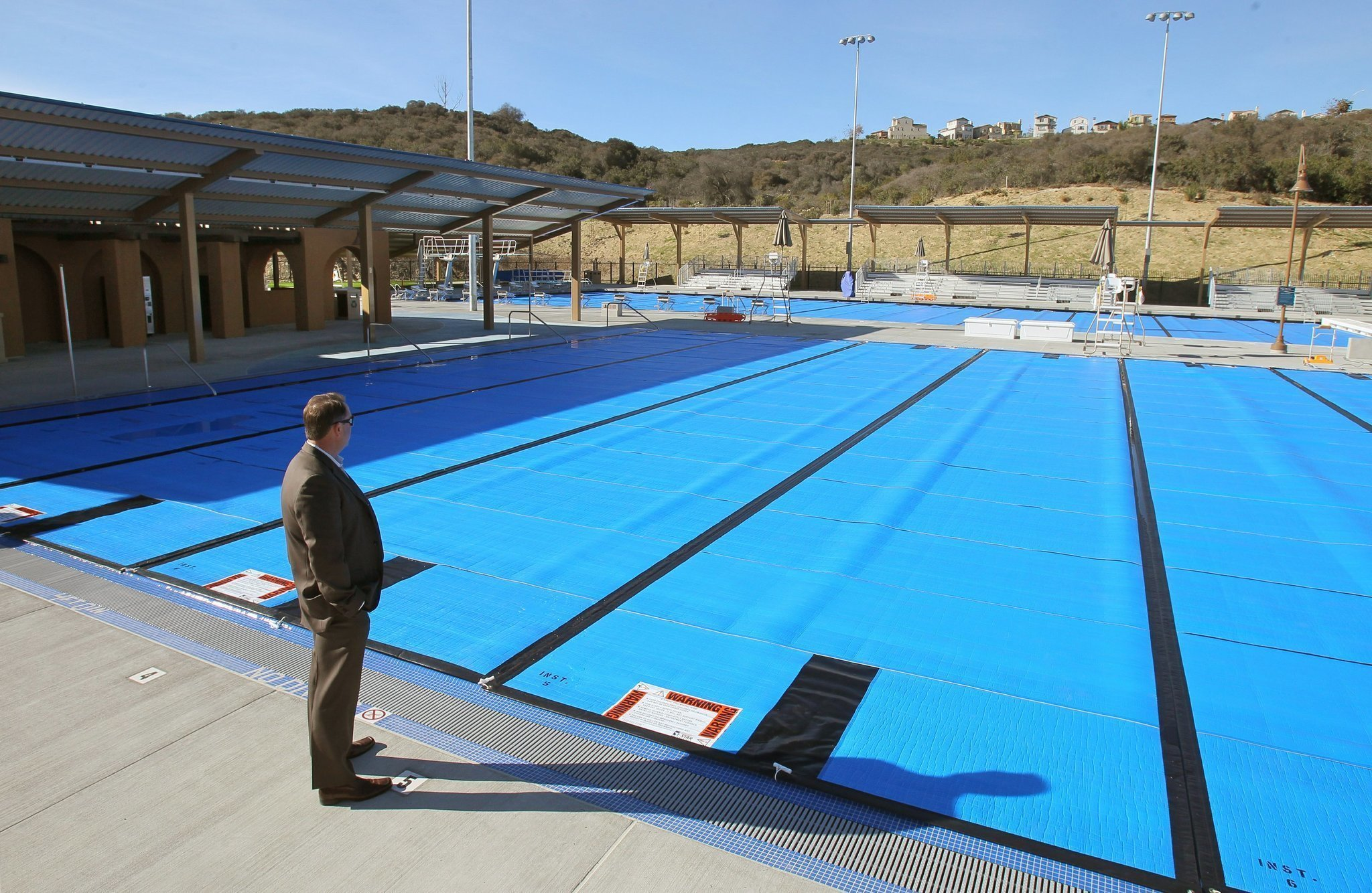 Elaborate aquatics complex opening in carlsbad the san - Is there sales tax on swimming pools ...