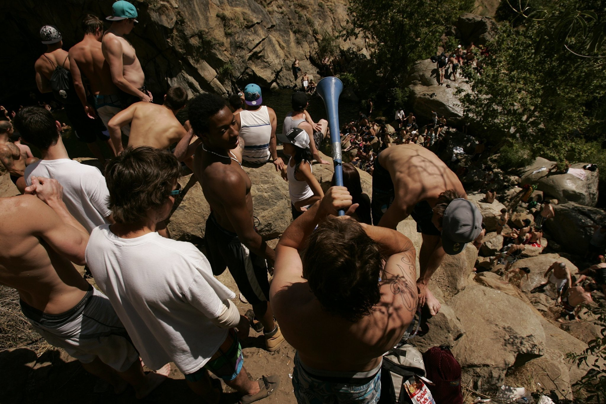 cedar creek falls restrictions a success - the san diego union-tribune