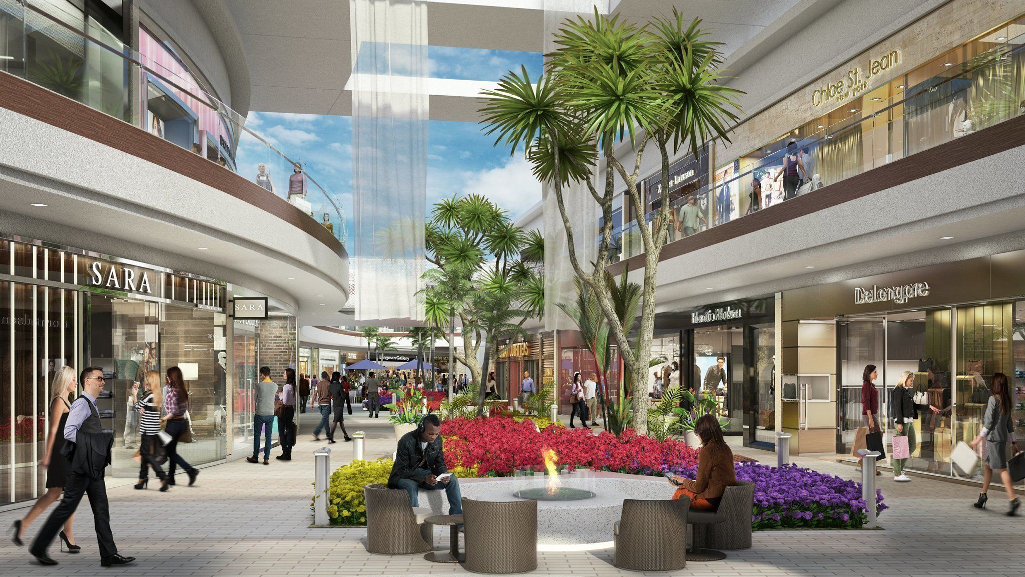 Carlsbad Mall Reaches For Beach Chic The San Diego