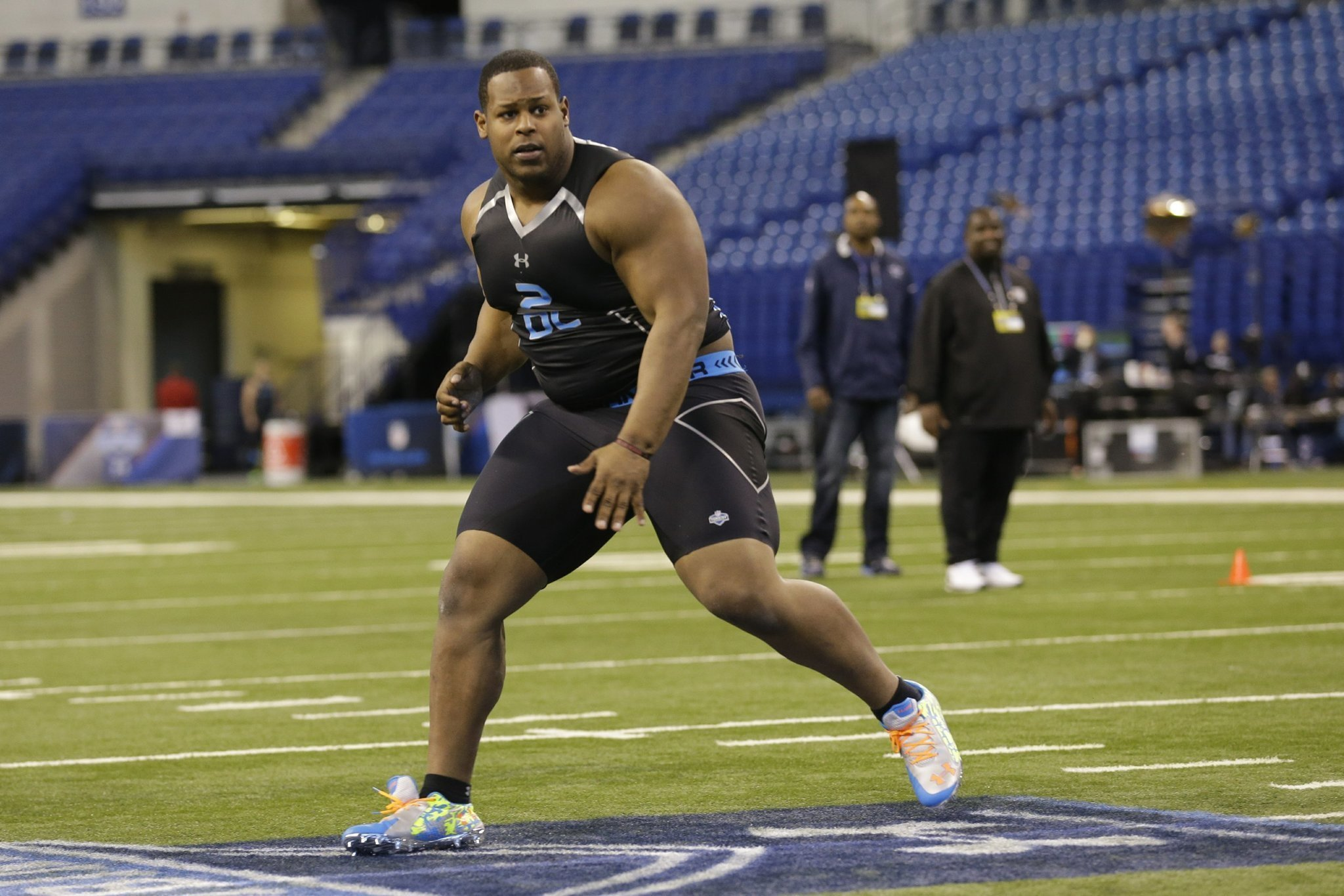 Chargers Draft Nose Tackle Carrethers The San Diego