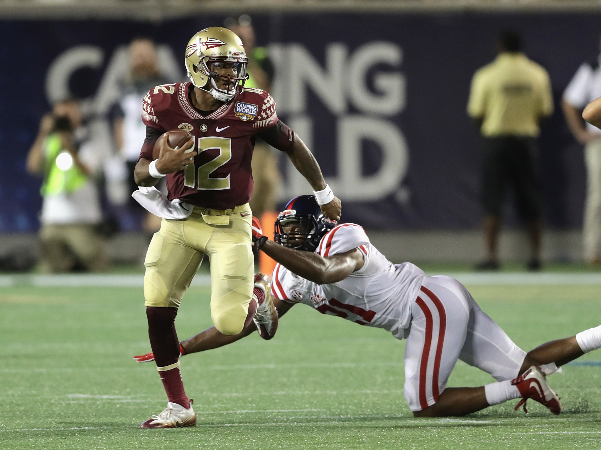 No 4 Florida State Rallies Past No 11 Mississippi 45 34 Chicago