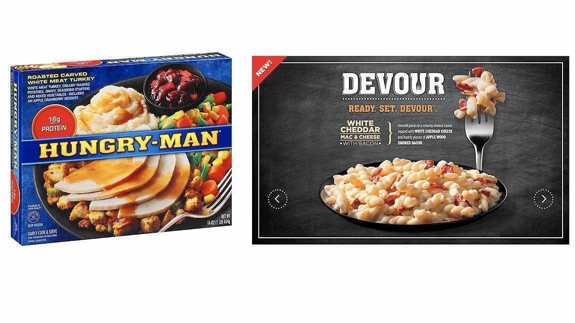 Food Fight Hungry Man Lawsuit Claims Kraft Heinz Blatantly