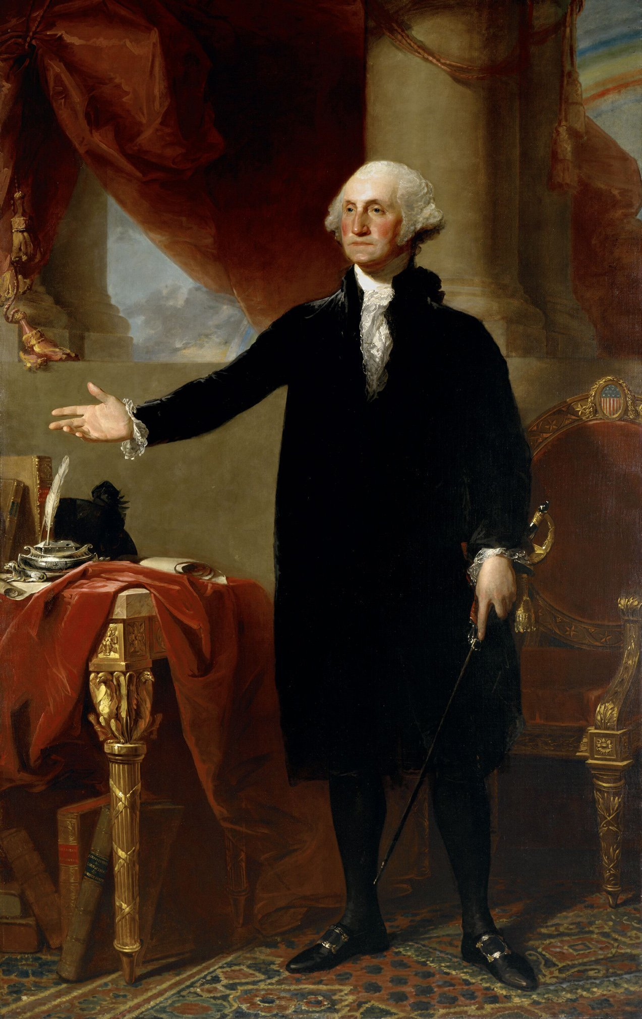 Famous george washington painting to be restored the san diego union tribune