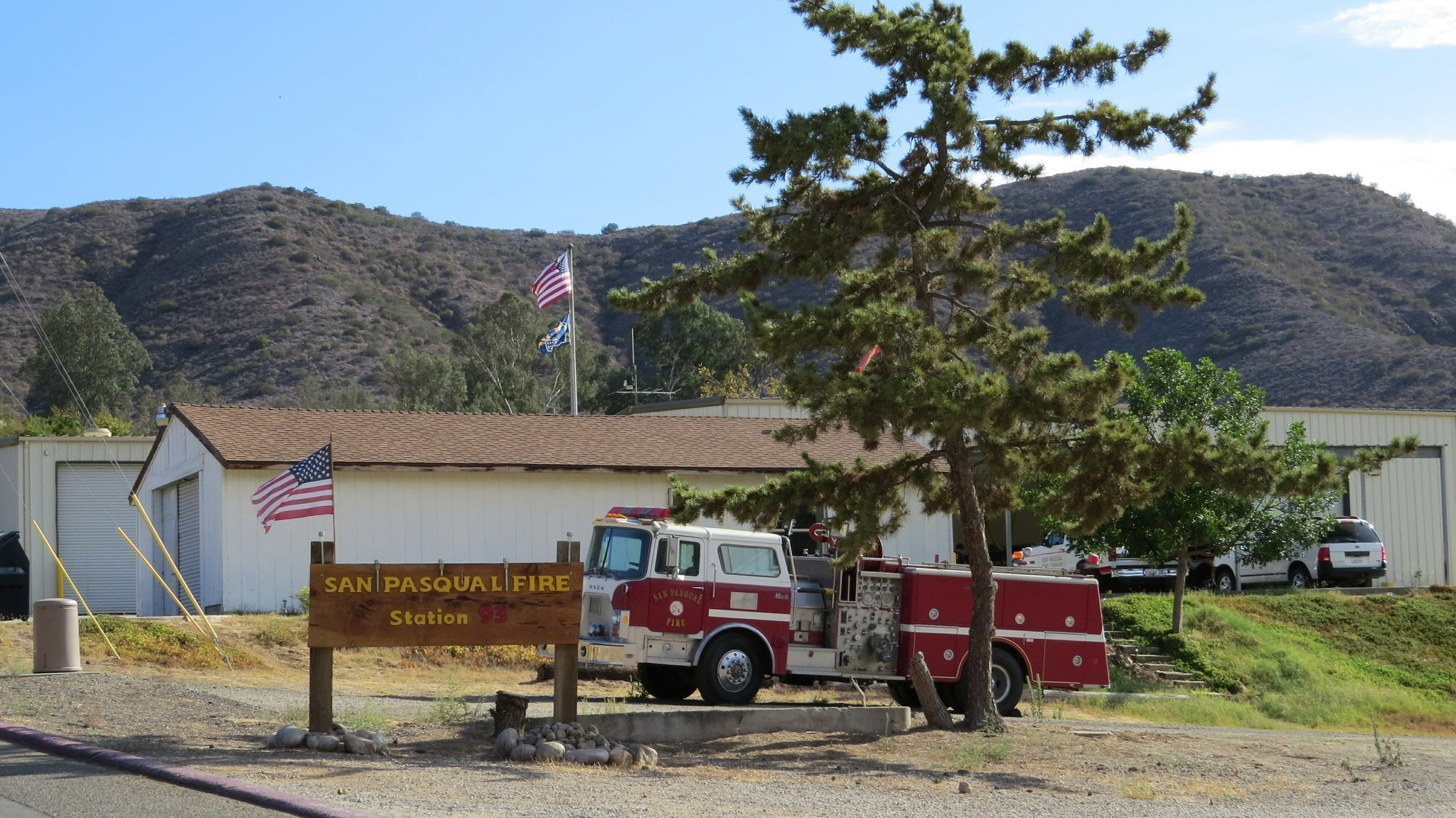 Sdut Fire Department Pasqual San Water Theft Poway Dooms Volunteer Which Will Be Dissolved Next Week By The County Sango Union Tribune