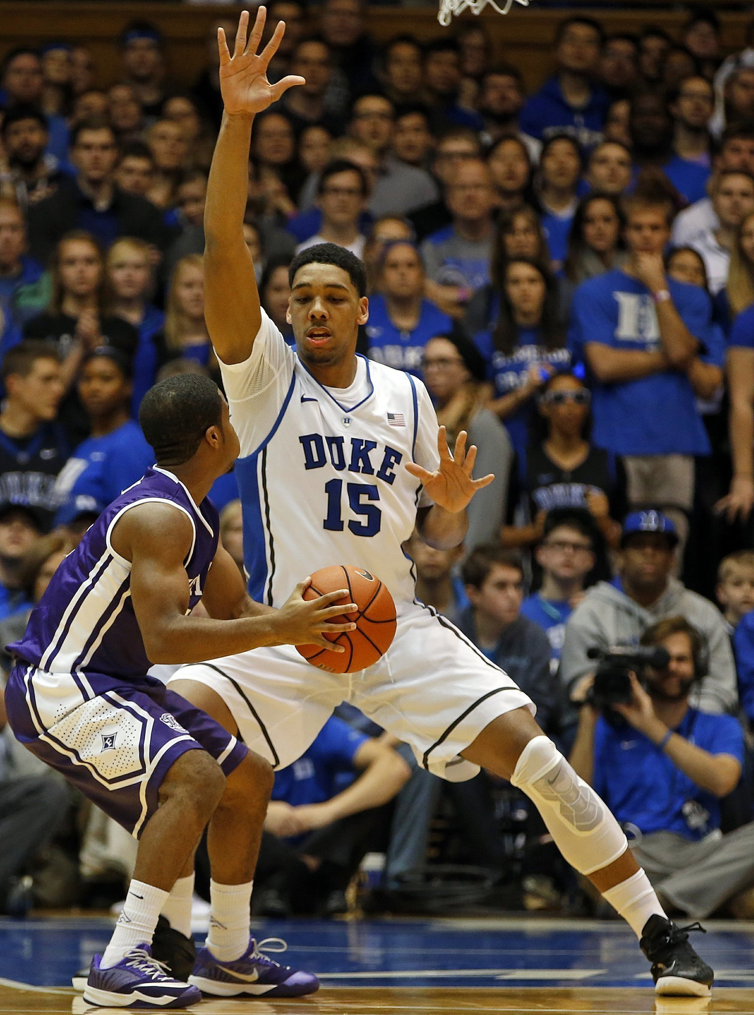 299c91e1edf7 Okafor s 24 help No. 4 Duke rout Furman 93-54 - The San Diego Union ...