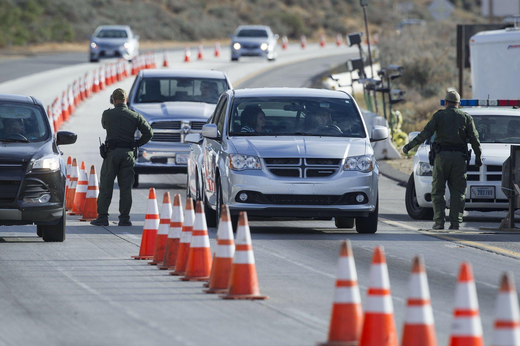 Checkpoints Push Buttons Boundaries Border Patrol