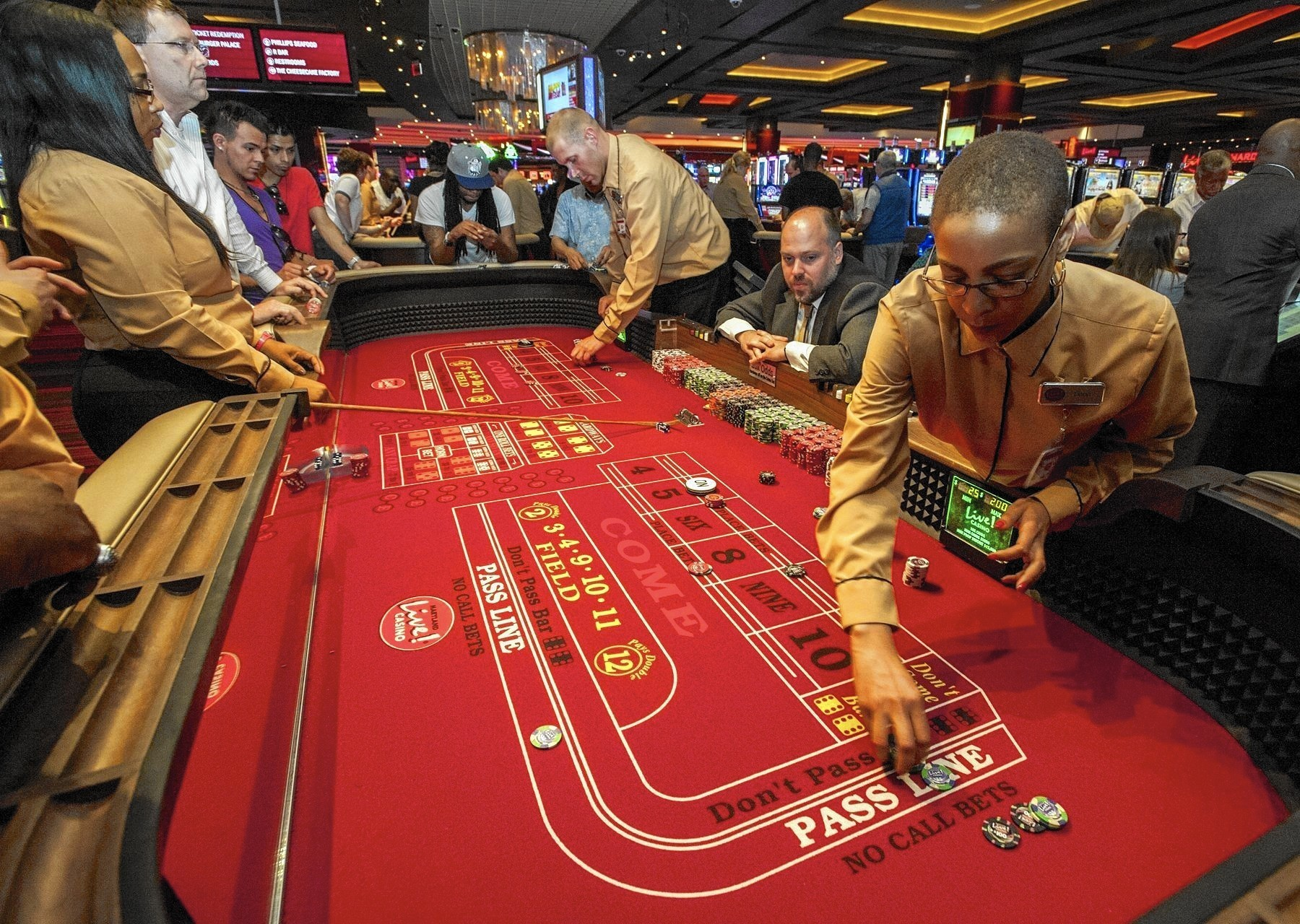 Maryland Live leads as state's casinos see more revenue