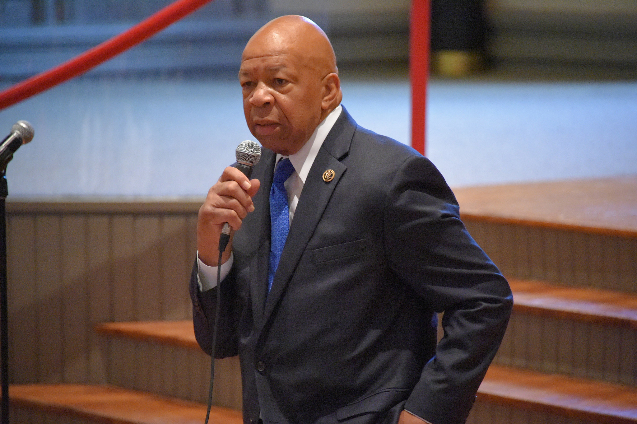 Rep. Elijah Cummings Hosts Town Hall On Baltimore DOJ Report