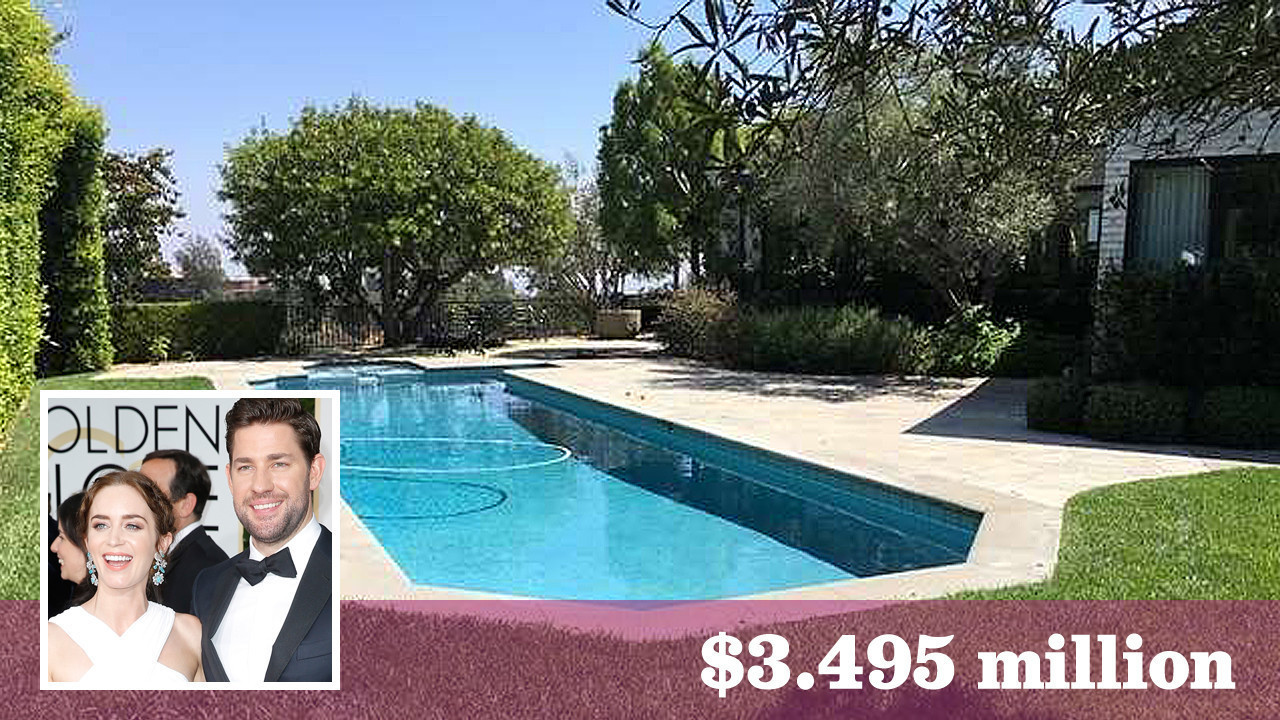 Emily Blunt and John Krasinski put another L.A. home up ...