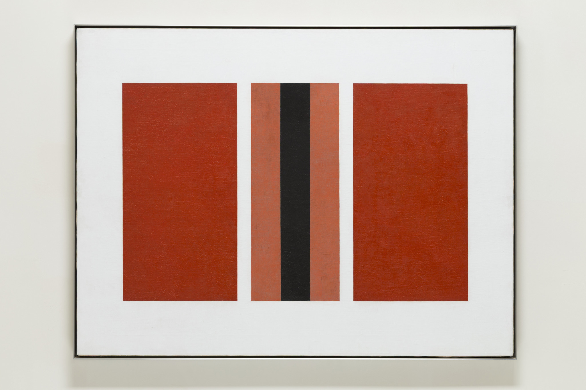 """John McLaughlin's """"#29-1960,"""" 1960, oil on canvas, 36 inches by 48 inches,"""