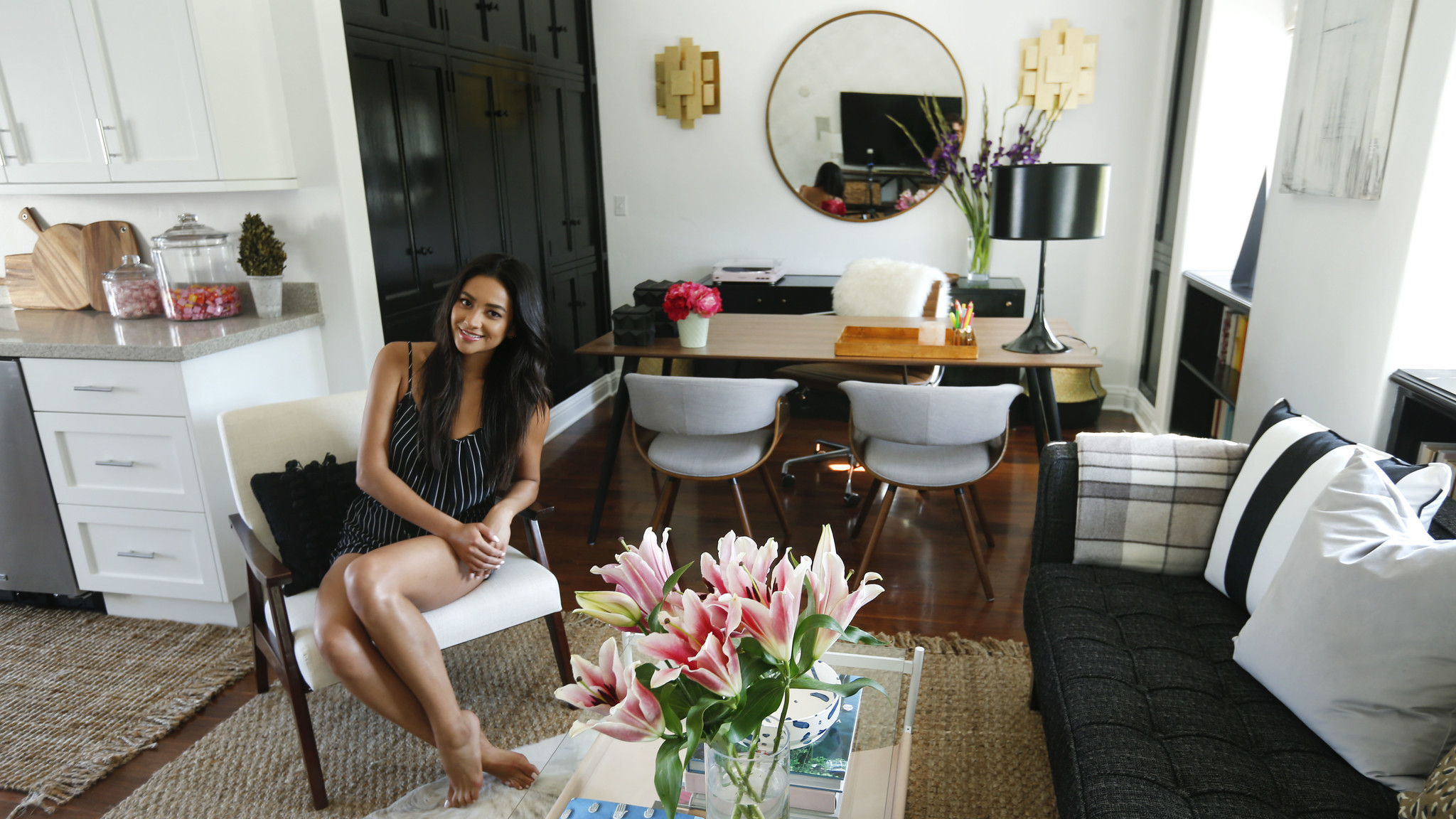 My Favorite Room: Shay Mitchell Keeps Glam In Her Multiuse