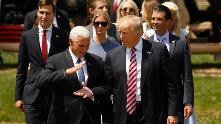 Mike Pence agrees with Trump that Russia's Putin is ...