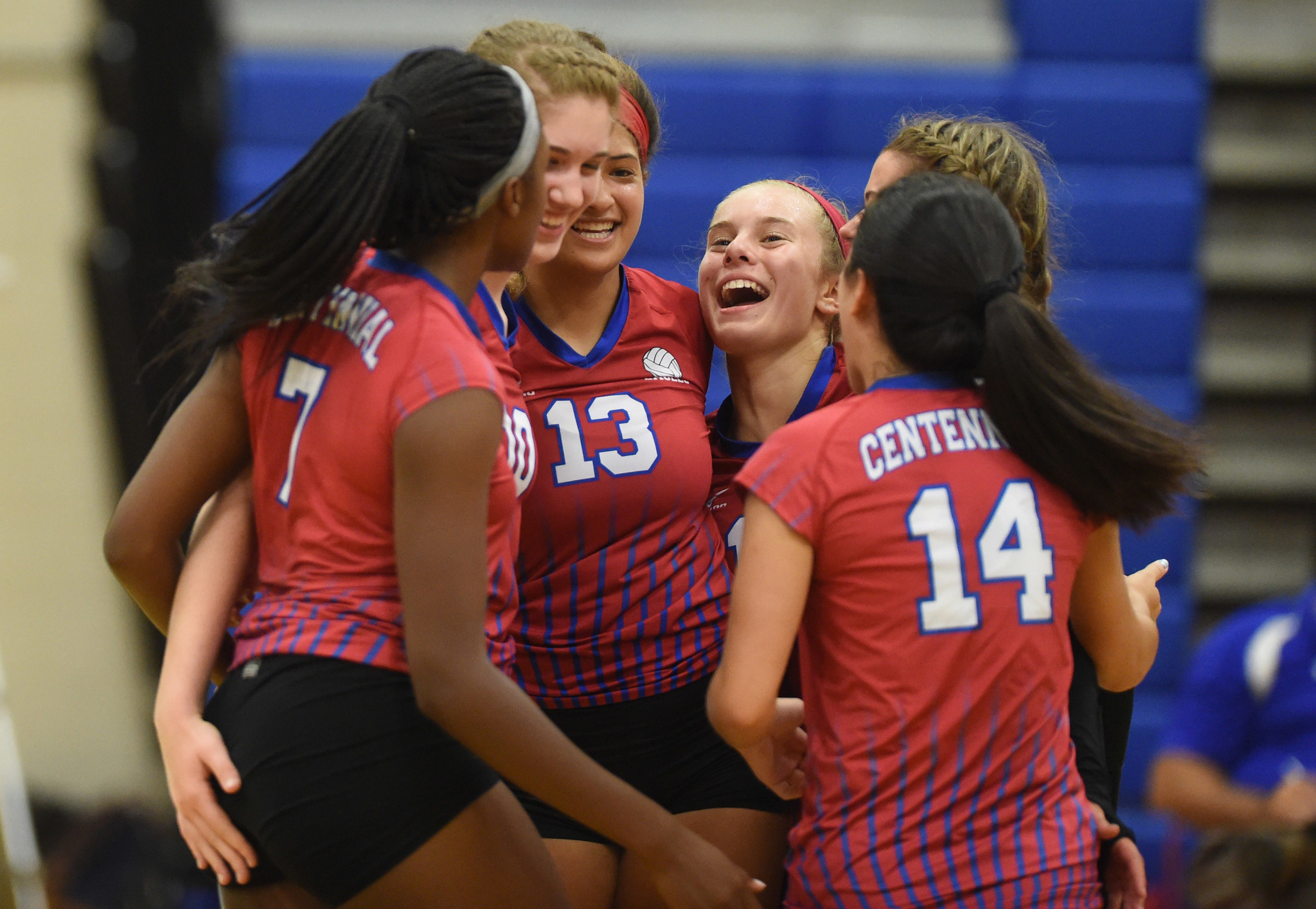 Centennial rolls River Hill in volleyball season opener ...