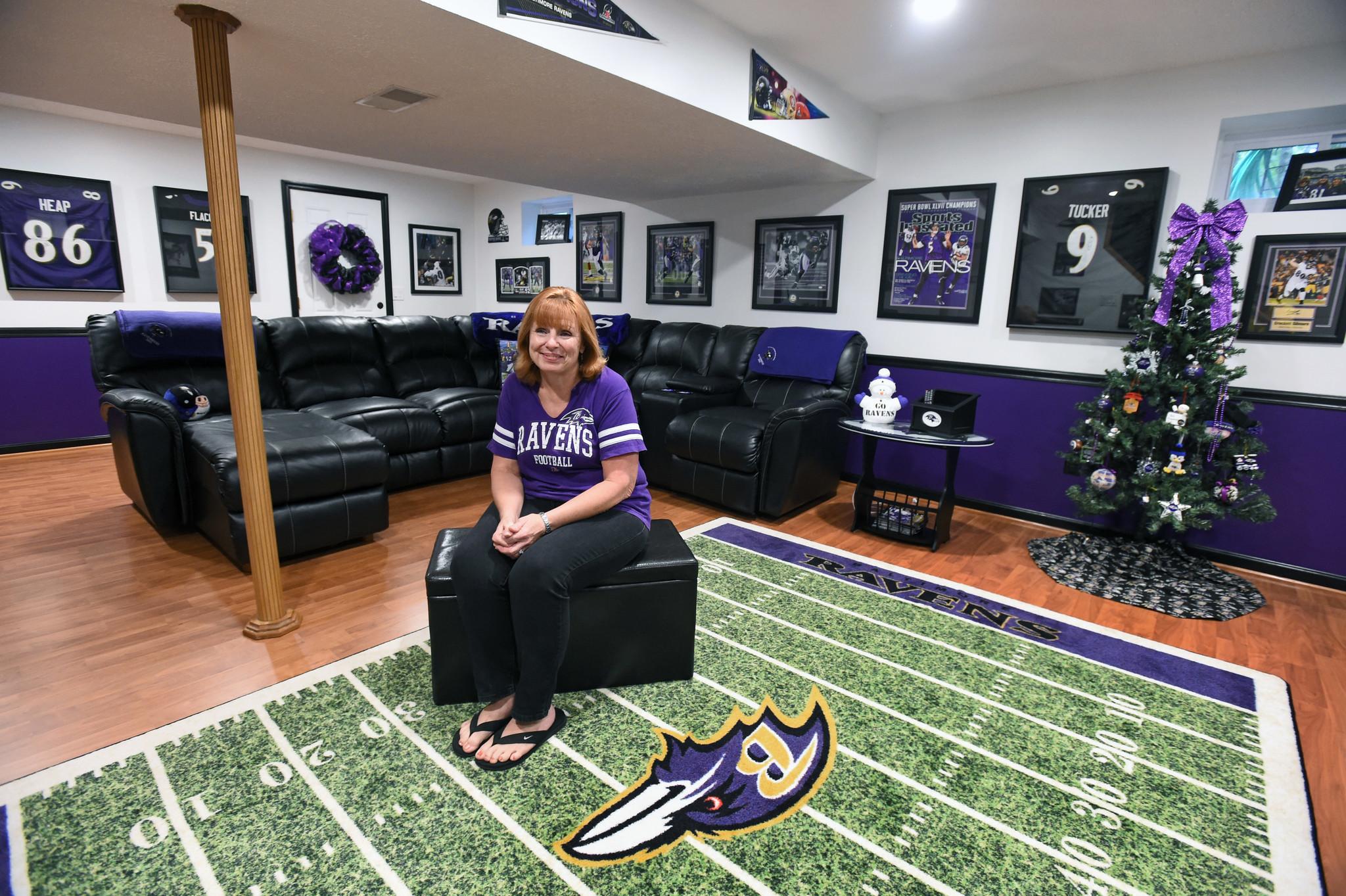 It S Never Offseason In Ravens Fan Caves Baltimore Sun
