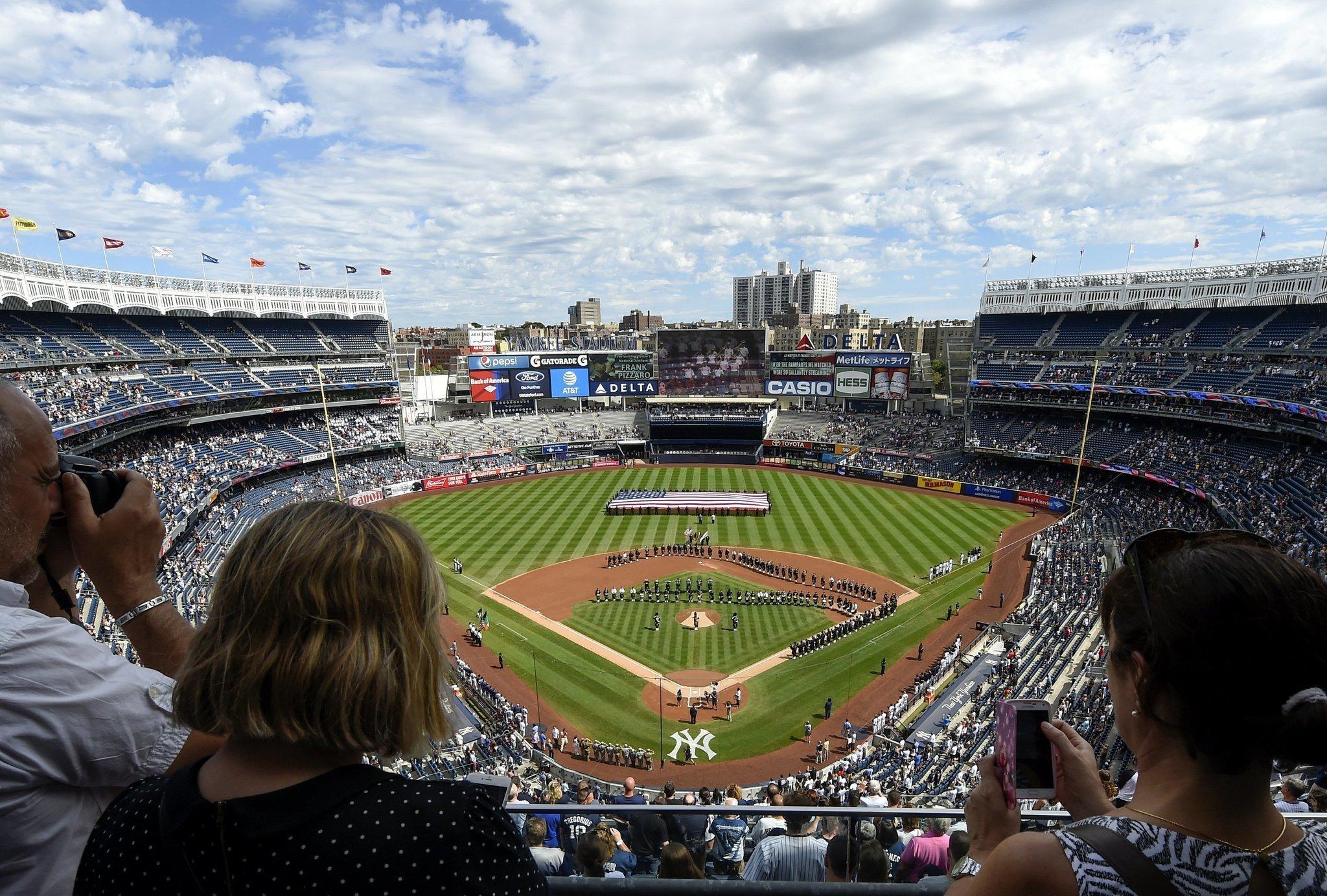 1a555dad22b LEADING OFF  Dodgers make rare visit to Yankee Stadium - The San Diego  Union-Tribune