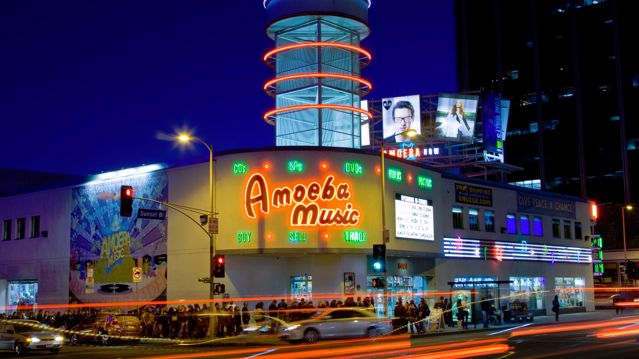 Hold the wrecking ball: Hollywood's Amoeba Music is here ...