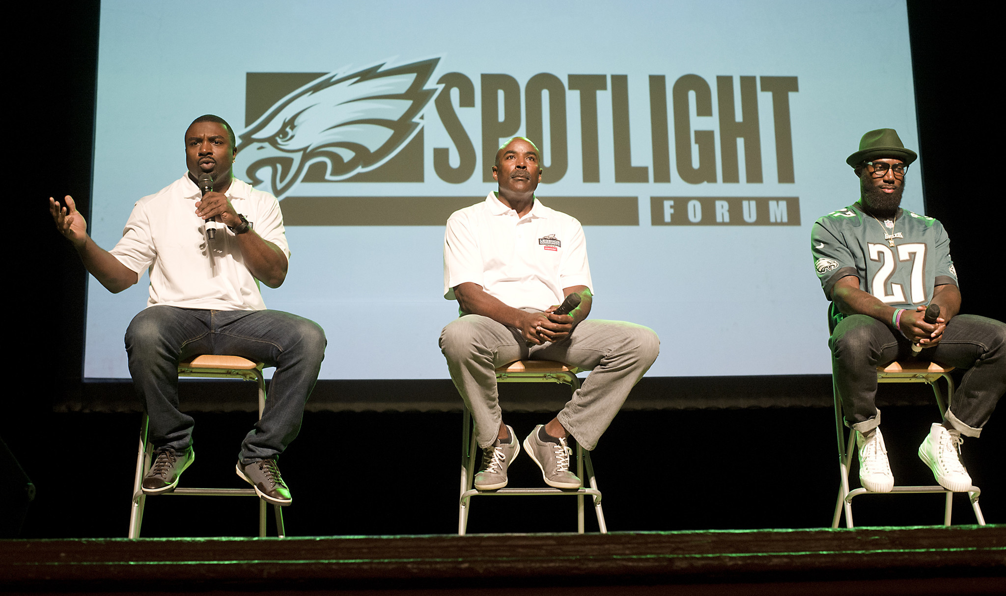 WATCH: Philadelphia Eagles hold meet & greet - The Morning Call